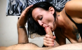 sultry-brunette-milf-pleases-a-cock-with-her-lovely-lips