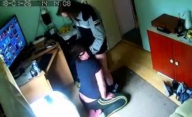 Amateur Brunette Get Caught Blowing A Dick On Hidden Cam