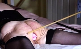 luscious-mature-wife-in-stockings-gets-punished-on-the-bed