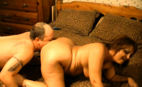 Sultry Mature Lady With Big Boobs Gets Pounded Doggystyle