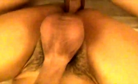 Amateur boy gets his narrow anal hole drilled bareback